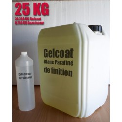 Topcoat PNG / Gelcoat de finition paraffiné 25KG