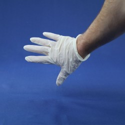 5 paires de gants Latex L ou XL