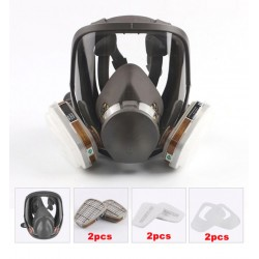 Masque intégral de protection A2P1 + 2 cartouches